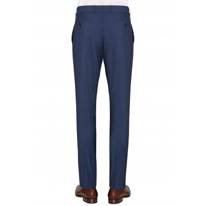 Business Suit trousers CG Frazer with overlaid open check / Hose/Trousers CG Frazer