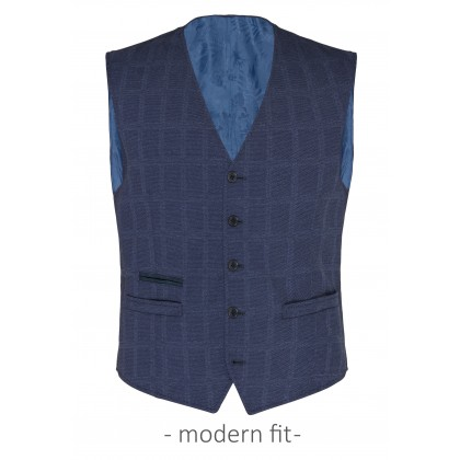 Waistcoat CG Wilfred in a checked design / Weste/Waistcoat CG Wilfred
